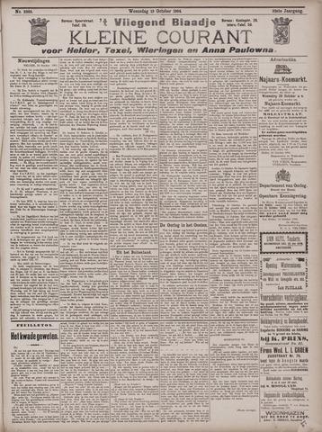 Vliegend blaadje : nieuws- en advertentiebode voor Den Helder 1904-10-19