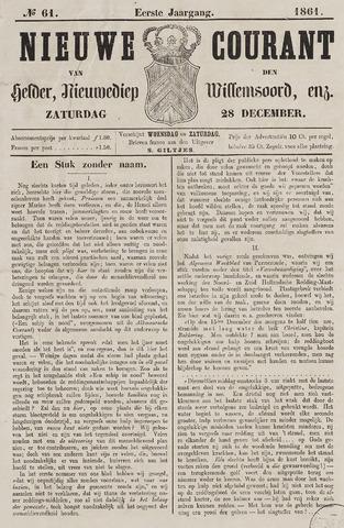 Nieuwe Courant van Den Helder 1861-12-28