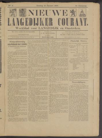 Nieuwe Langedijker Courant 1896-01-12