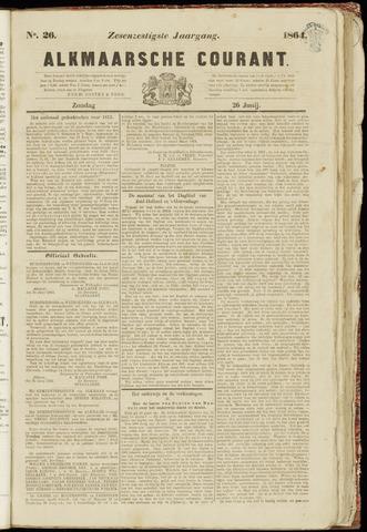 Alkmaarsche Courant 1864-06-26