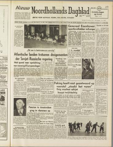 Nieuw Noordhollandsch Dagblad : voor Alkmaar en omgeving 1950-12-19