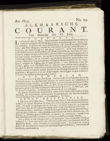 Alkmaarsche Courant 1805-06-17