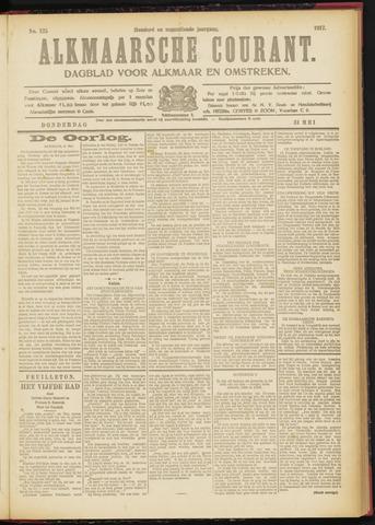 Alkmaarsche Courant 1917-05-31