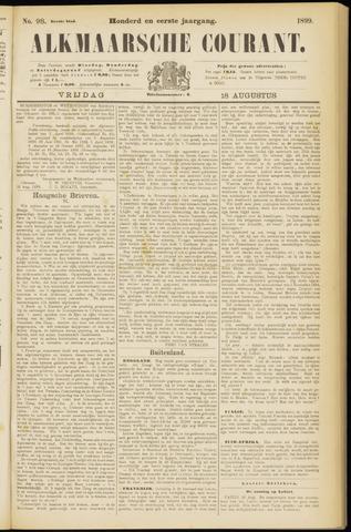 Alkmaarsche Courant 1899-08-18