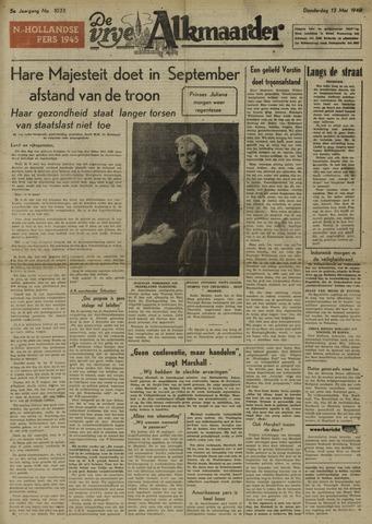 De Vrije Alkmaarder 1948-05-13