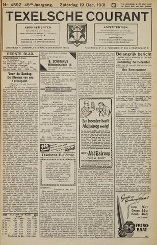 Texelsche Courant 1931-12-19