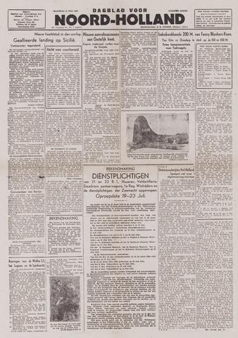 Dagblad Noord-Holland, Schager editie 1943-07-12