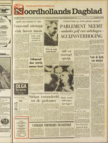 Noordhollands Dagblad : dagblad voor Alkmaar en omgeving 1969-05-22