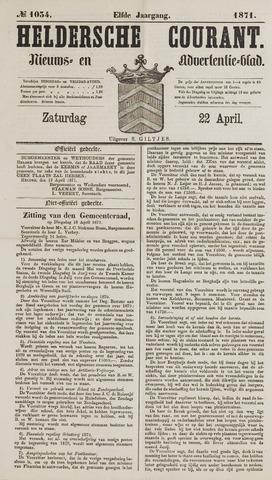 Heldersche Courant 1871-04-22
