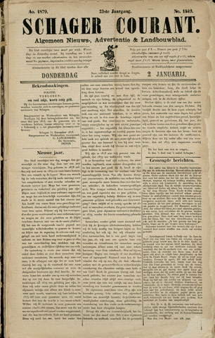 Schager Courant 1879