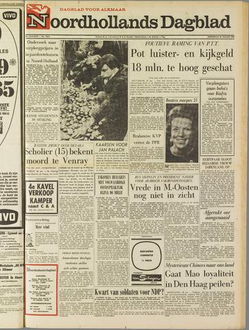 Noordhollands Dagblad : dagblad voor Alkmaar en omgeving 1969-01-30