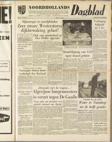 Noordhollands Dagblad : dagblad voor Alkmaar en omgeving 1960-01-20