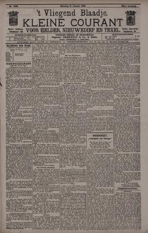 Vliegend blaadje : nieuws- en advertentiebode voor Den Helder 1896-01-11