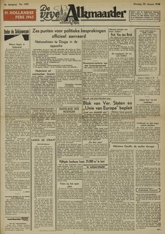 De Vrije Alkmaarder 1948-01-20