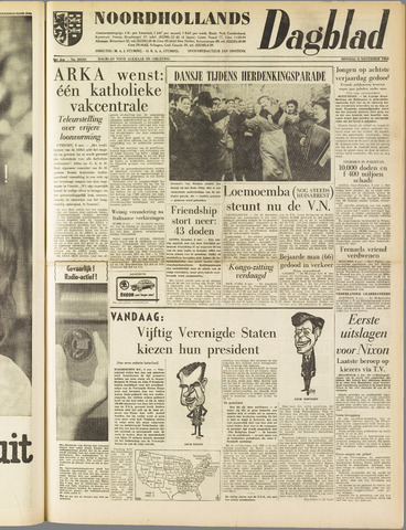 Noordhollands Dagblad : dagblad voor Alkmaar en omgeving 1960-11-08