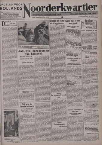 Dagblad voor Hollands Noorderkwartier 1942-04-30