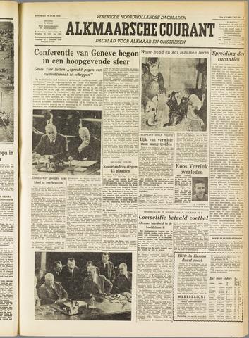 Alkmaarsche Courant 1955-07-19