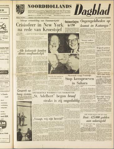 Noordhollands Dagblad : dagblad voor Alkmaar en omgeving 1960-09-24