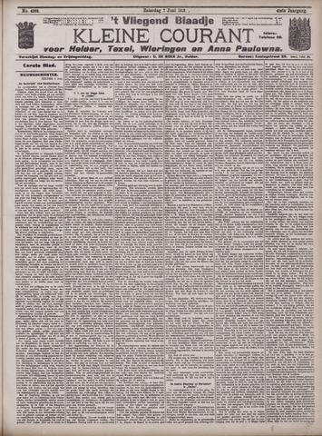 Vliegend blaadje : nieuws- en advertentiebode voor Den Helder 1913-06-07