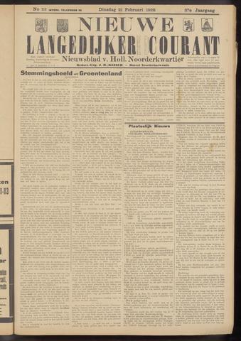 Nieuwe Langedijker Courant 1928-02-21