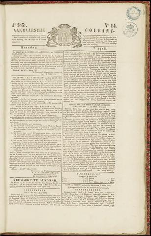 Alkmaarsche Courant 1851-04-07