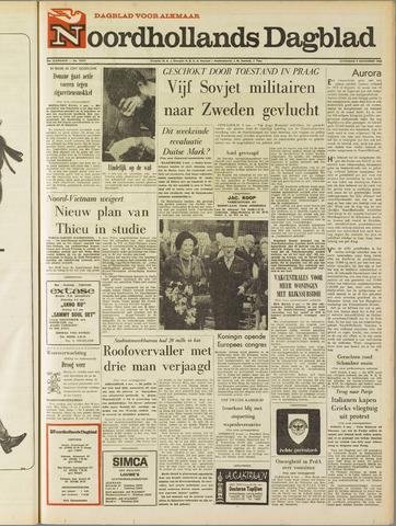 Noordhollands Dagblad : dagblad voor Alkmaar en omgeving 1968-11-09
