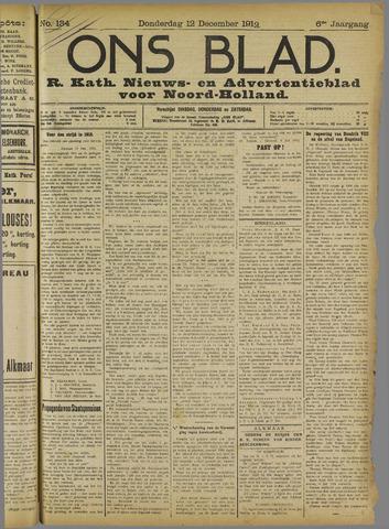 Ons Blad : katholiek nieuwsblad voor N-H 1912-12-12