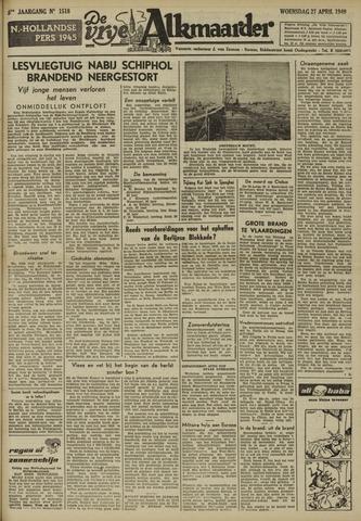 De Vrije Alkmaarder 1949-04-27