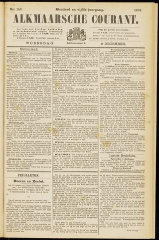 Alkmaarsche Courant 1903-12-09