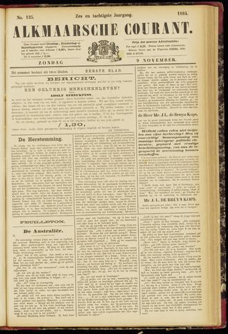 Alkmaarsche Courant 1884-11-09
