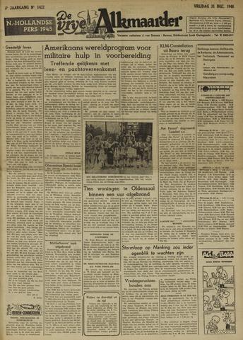 De Vrije Alkmaarder 1948-12-31