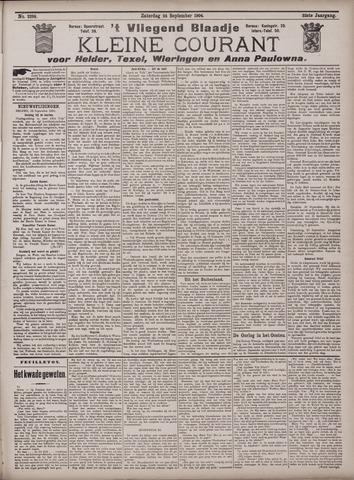Vliegend blaadje : nieuws- en advertentiebode voor Den Helder 1904-09-24