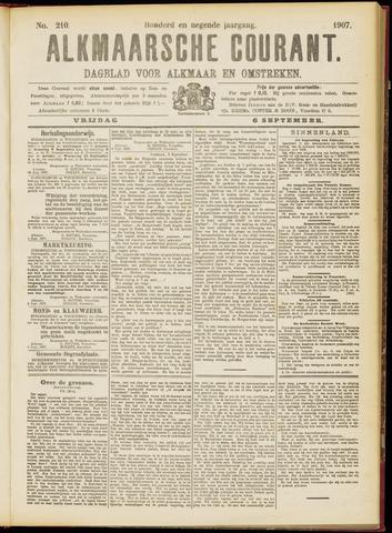 Alkmaarsche Courant 1907-09-06