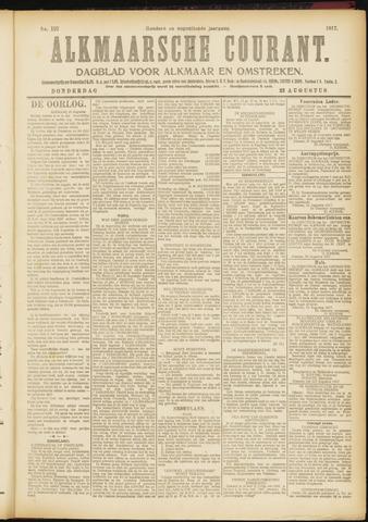 Alkmaarsche Courant 1917-08-23