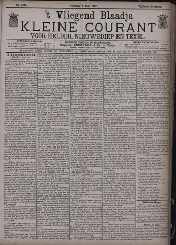 Vliegend blaadje : nieuws- en advertentiebode voor Den Helder 1887-06-08