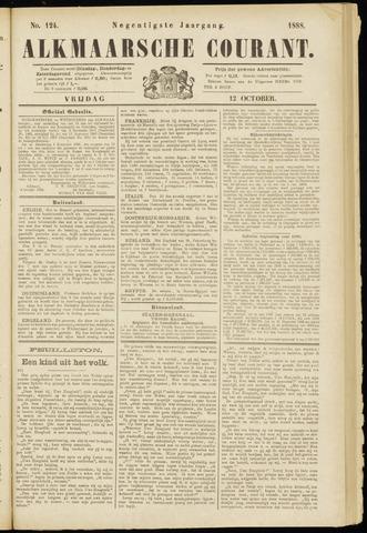 Alkmaarsche Courant 1888-10-12