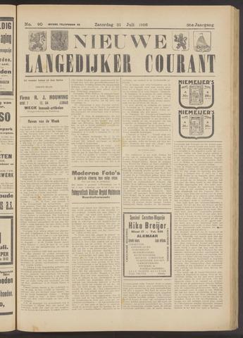 Nieuwe Langedijker Courant 1926-07-31