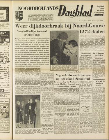 Noordhollands Dagblad : dagblad voor Alkmaar en omgeving 1953-02-05