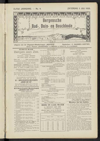 Bergensche bad-, duin- en boschbode 1920-07-03