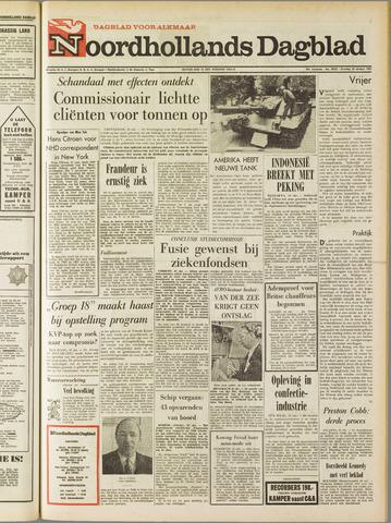 Noordhollands Dagblad : dagblad voor Alkmaar en omgeving 1967-10-10