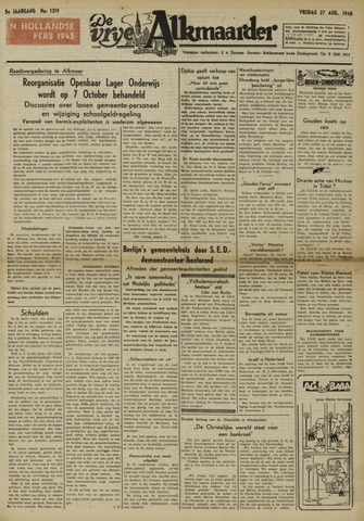 De Vrije Alkmaarder 1948-08-27