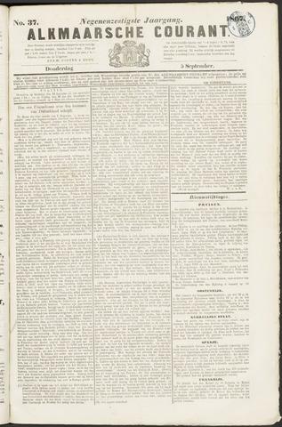 Alkmaarsche Courant 1867-09-05