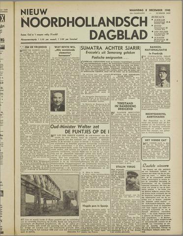 Nieuw Noordhollandsch Dagblad : voor Alkmaar en omgeving 1945-12-03
