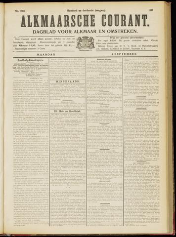 Alkmaarsche Courant 1911-09-04