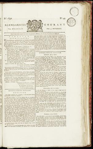 Alkmaarsche Courant 1832-11-05