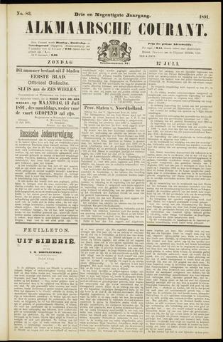 Alkmaarsche Courant 1891-07-12