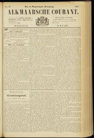 Alkmaarsche Courant 1894-03-14