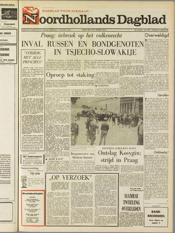 Noordhollands Dagblad : dagblad voor Alkmaar en omgeving 1968-08-21