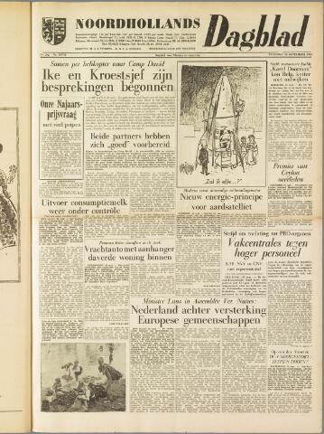 Noordhollands Dagblad : dagblad voor Alkmaar en omgeving 1959-09-26