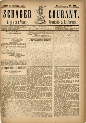 Schager Courant 1888-08-19